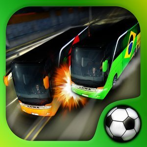 Soccer Team Bus Battle Brazil